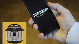amazon app on mobile phone