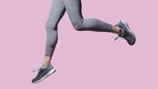 running-jumping-sports-shoes-fitness-health-success-betterment-motto-stock