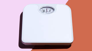 scale-2-weight-body-image-diet-health-fitness-advice-betterment-motto-stock