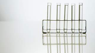 Test tubes in a holder TIME health stock