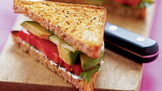 ALT (Avocado, Lettuce, and Tomato) Sandwiches