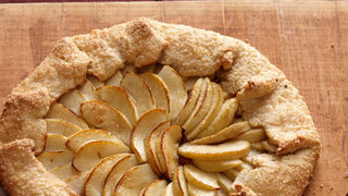Apple-Maple Galette