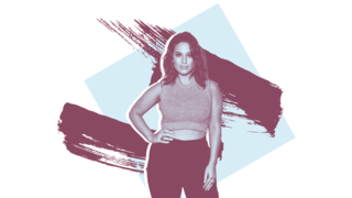 ashley-graham workout dog-pound HIIT exercise woman health strength weight