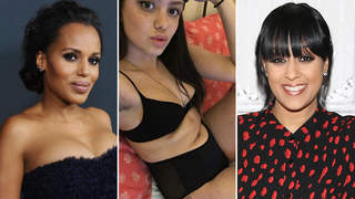 celebrities with eczema tia mowry, kerry washington, emily bador