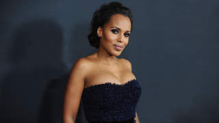 kerry-washington-fuzzy-dress