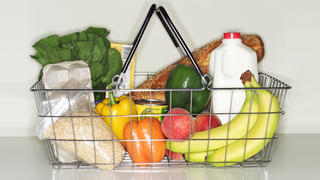 pantry-staples-grocery-bag-groceries-healthy-food