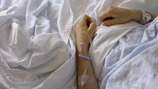 Diabetic ketoacidosis treatment IV hospital
