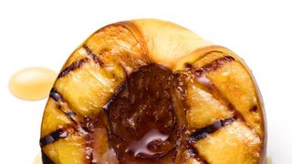 grilled-peaches-honey