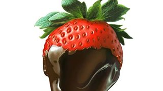 strawberry-chocolate