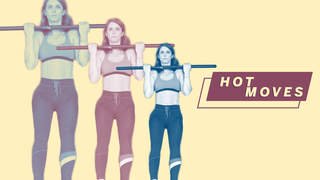 chin-up exercise hot-move video woman health workout strength