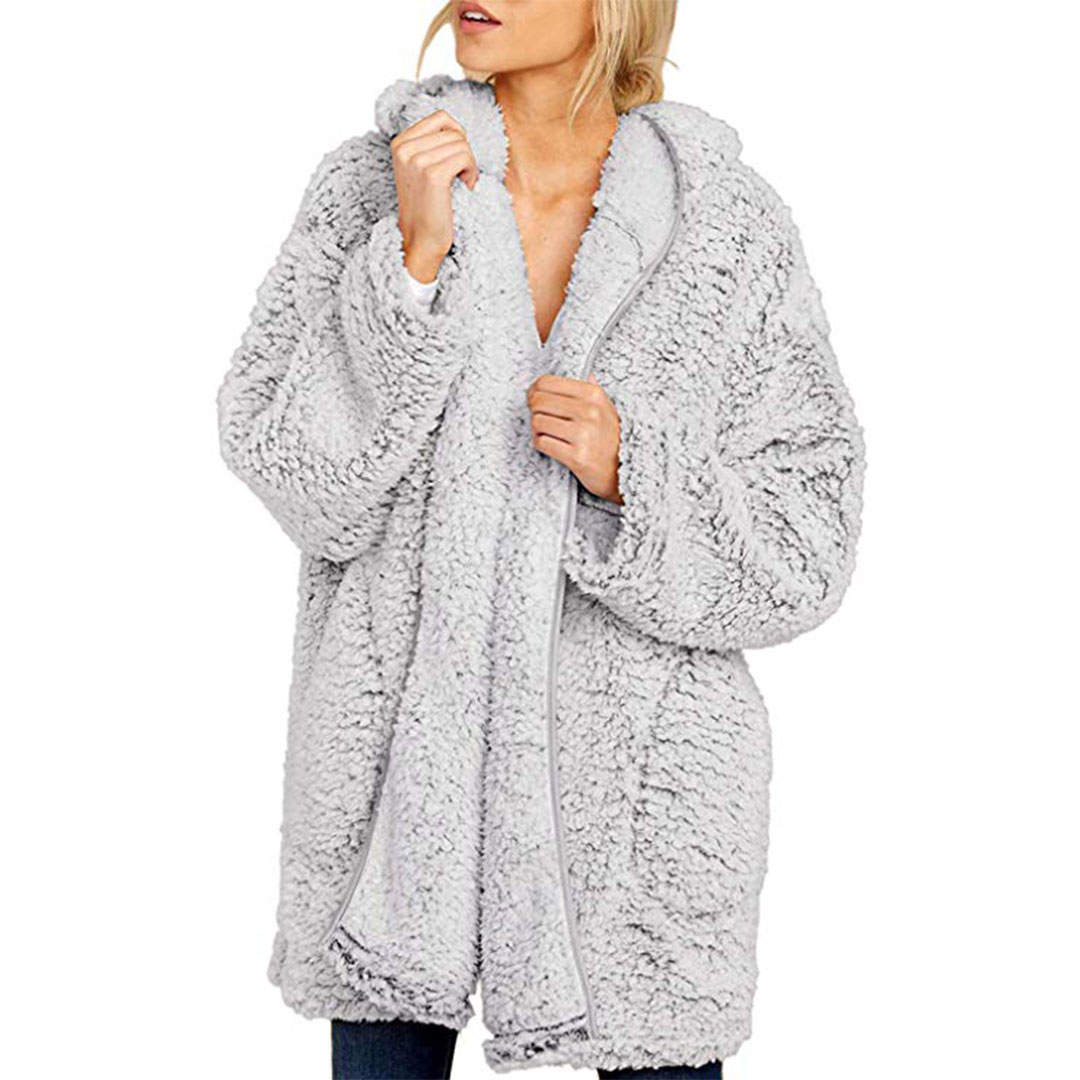 We Found the Coziest Winter Jacket on Amazon's Best-Seller List, and You'll Never Want to Take It Off